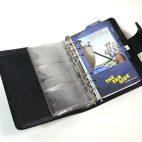 photograph relating to Day Runner Binder named The Much Facet Black Working day Runner 6 Ring Binder